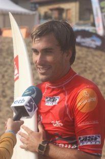 Campeonato Mundial de Surf.Aritz Aranburu.Eliminado Que PENA.Zarautz.2009-09-05