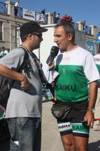 J.L.KORTA.Entrenador de KAIKU.Traineras.Donostia.2009-09-06