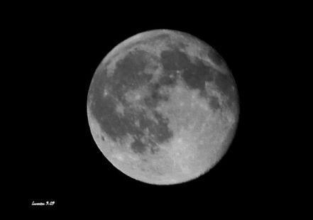 La última Luna llena del Verano 2009