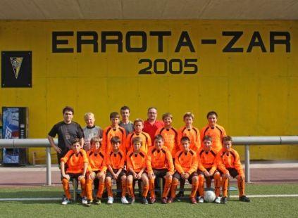 Amaikak-Bat F.T.Alevines.Escuela de Futbol.Deba.2009-09-11