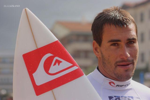 Aritz Aramburu.Campeonato Mundial de Surf.Zarautz.2008-09-12