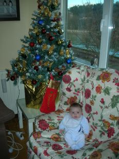 Dia de Navidad donde la amona