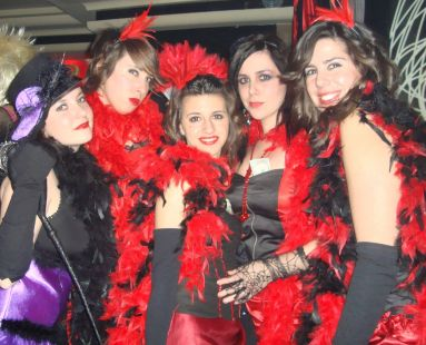 chicas del moulin rouge