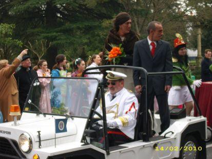 Obama y su esposa