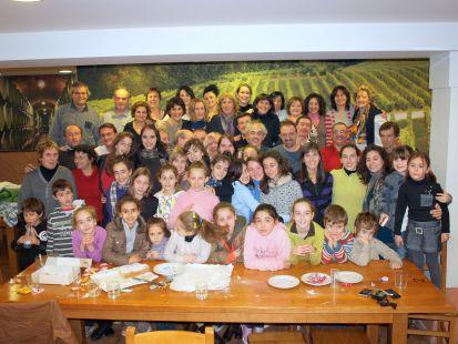 Club de Gimnasia Rítmica Donosti: la familia al completo