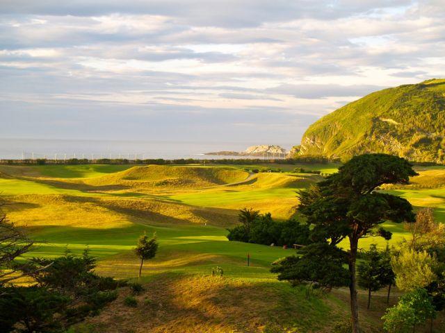El campo de golf de Zarautz amenazando el biotopo de Inurritza