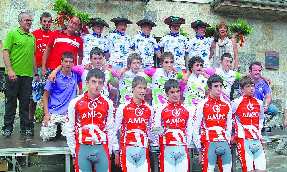 Campeonato de gipuzkoa contra reloj por equipos fotos de for Equipos de ciclismo