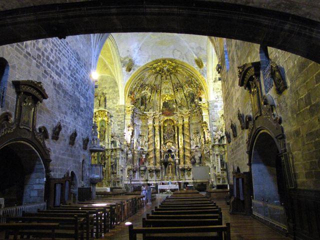 Interior de la iglesia de elizmendi asteasu fotos de paisajes - Foto foto interior ...