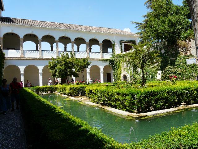jardines de la alhambra fotos de vacaciones y viajes