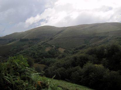 ,Arriurdingain, desde el camino a Garagartza