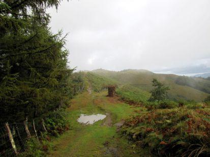 Llegando a ,Garagartza, por el sur (674 m)