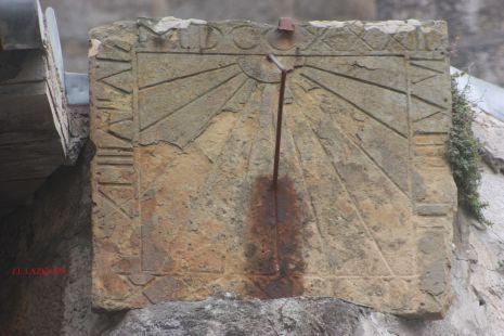 Reloj de Sol.Itziarko Eliza.Itziar.2009-09-25
