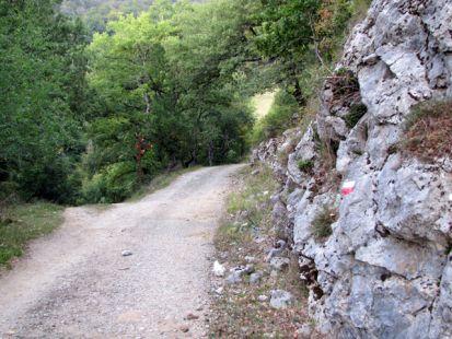 Siguiendo el GR camino de las cumbres de Goldaratz