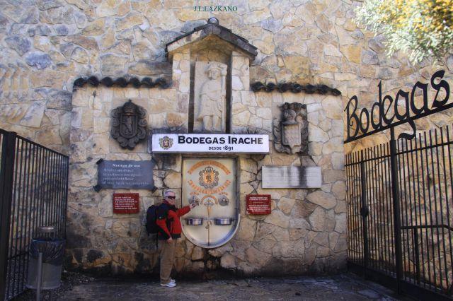 Fuente del vino Camino de Santiago