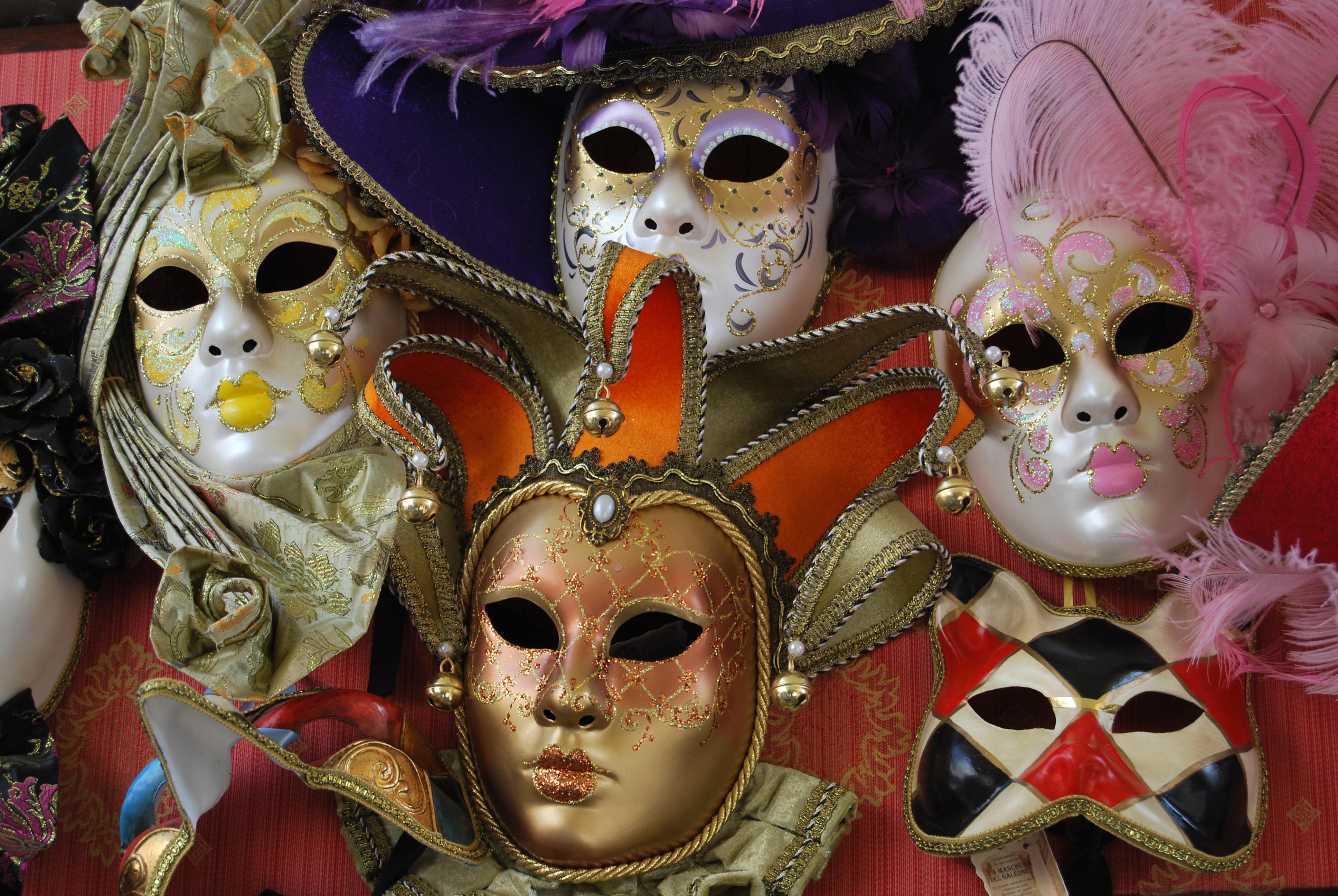 Mascaras de carnaval veneciano fotos de vacaciones y viajes - Mascaras de carnaval de venecia ...
