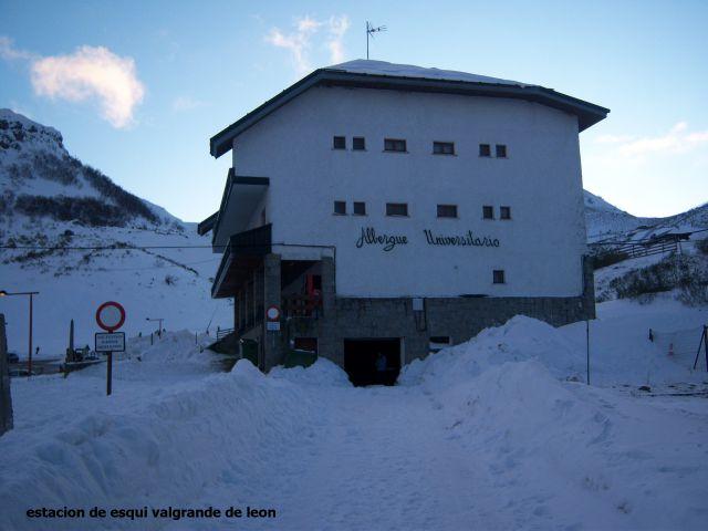 estacion de esqui de valgrande en leon
