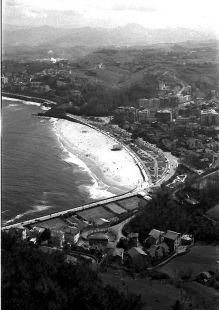 ondarreta desde igeldo-1966