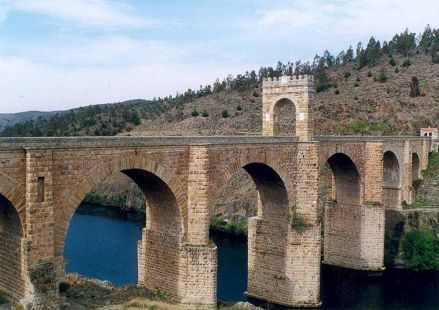 puente romano de alcantara-extremadura