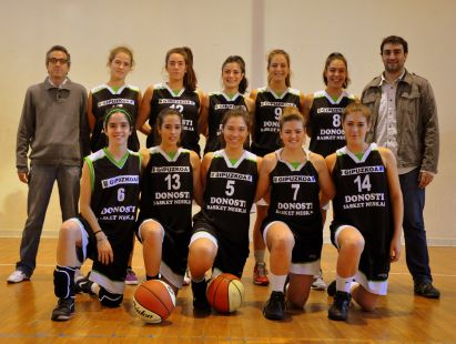 Donosti Basket junior femenino