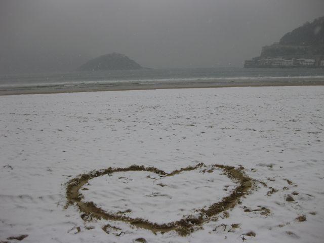 Amor en Playa La Concha