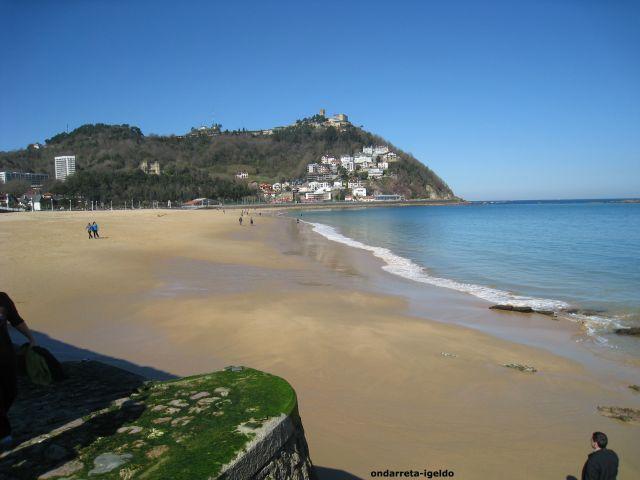 playa de ondarreta-igeldo-donostia