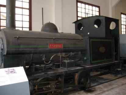 locomotora en azpeitia