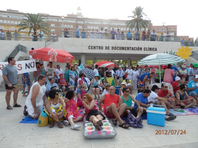 dia de playa en hospital sevillano