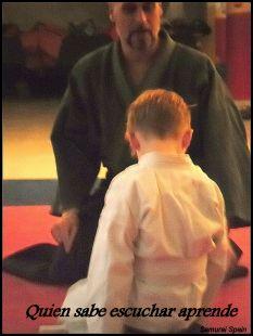 Shinrin-yoku Niños Samurai Spain