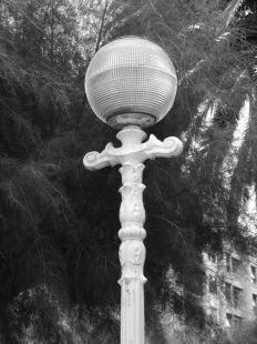 Farola entre Tamarindos