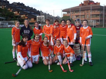 Equipo Hockey-hierba Alevin StoTomas Lizeo-B. Ederrenak beti! 