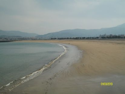 playa hondarribi