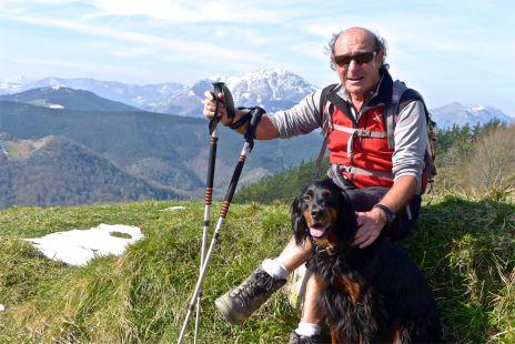 Dando un paseo por el monte