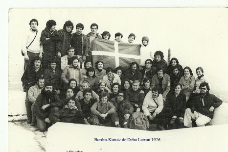 Excursion del Burdin-Kurutz de Deba a Larrun.1973