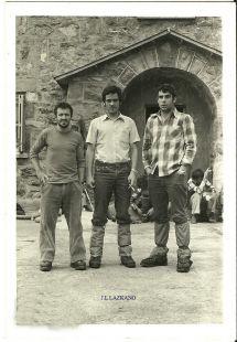 Refugio de Goriz.Huesca.Lazkano,Indamendi eta Manzisidor.Agosto.1977