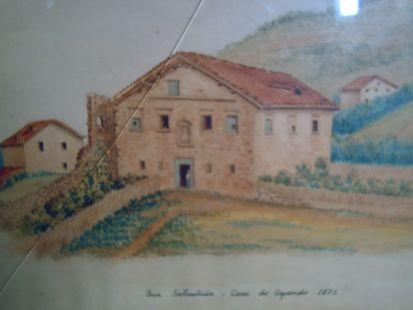 Casa de Oquendo en 1872
