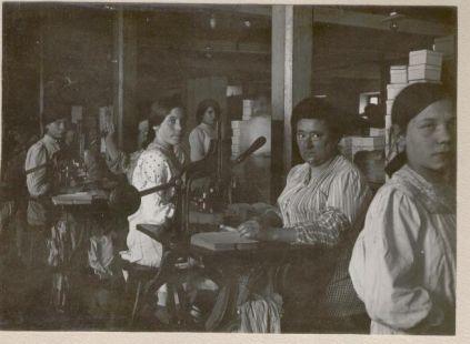 Fabrica de papel continuo La Esperanza Tolosa trabajadoras