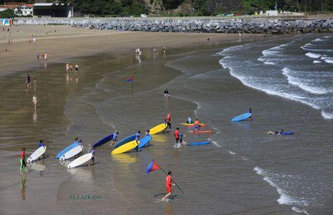 Cursillo de Surf.Deba.2013-06-28