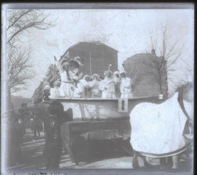 solar del Bellas Artes carnavales 1909