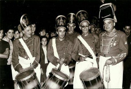 Tamborrada Ozio-Bide.Deba.1963-08-14