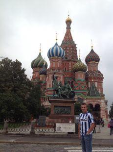 La real visita Moscu