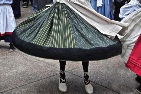 La falda de la dantzari