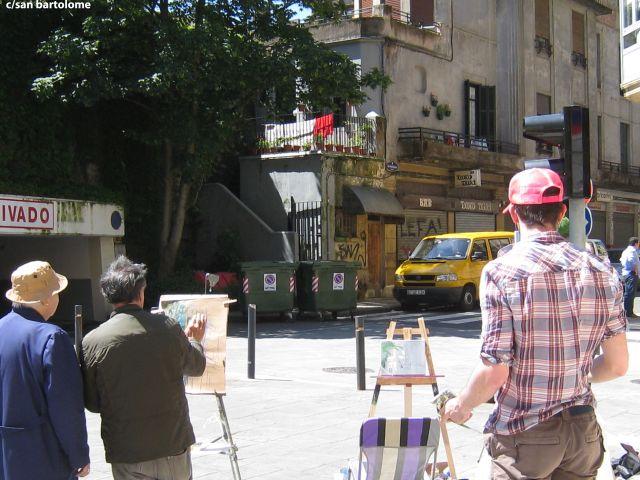 pintores en san bartolome