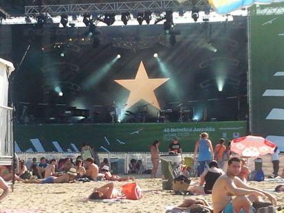 Festival de jazz en la Zurriola