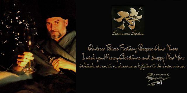 Feliz Navidad Samurai Spain