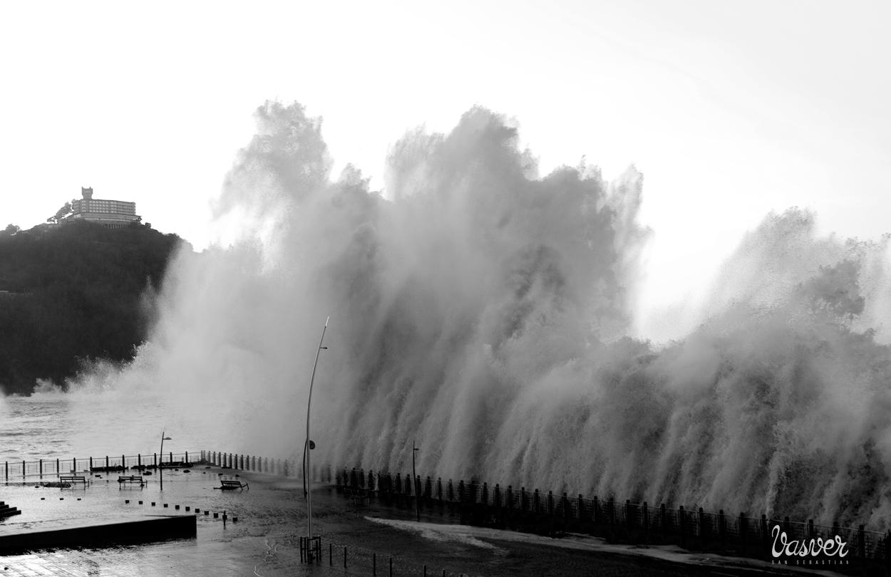 Vasver temporal olas donostia san sebastian fotos de - Clima en donostia san sebastian ...