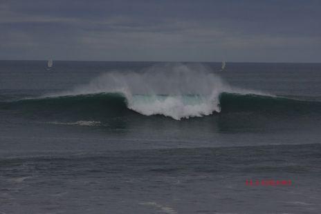 Oleaje.Playa Gris.Zumaia.2014-02-22
