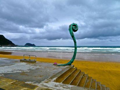 Mal tiempo en la costa