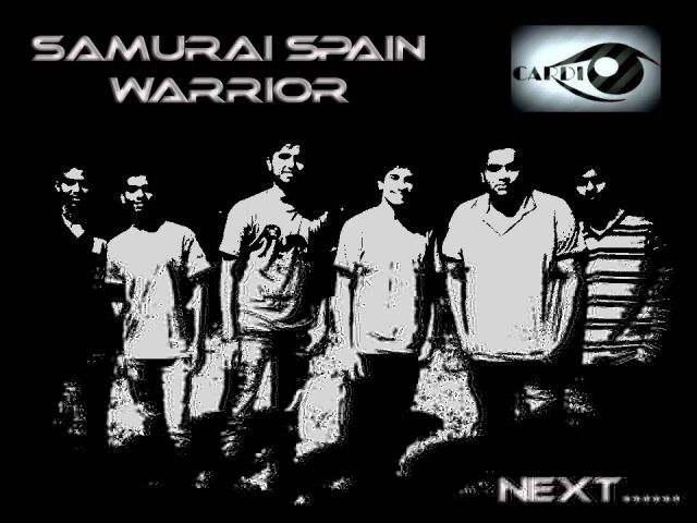 CARDIO -SAMURAI SPAIN WARRIOR MUSIC