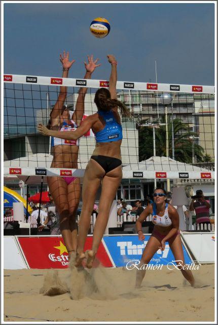 Voley playa Laredo 2014