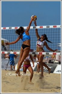 Voley playa Laredo 2014